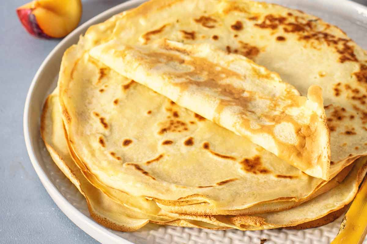 Receta panqueques con dulce de leche o para hacer canelones salados