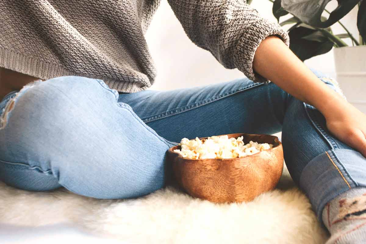 como hacer pochoclo dulce o salado con maiz pisingallo para ver series y peliculas