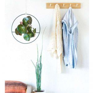 portamacetas diseño para macetas colgantes decoracion de interiores con plantas